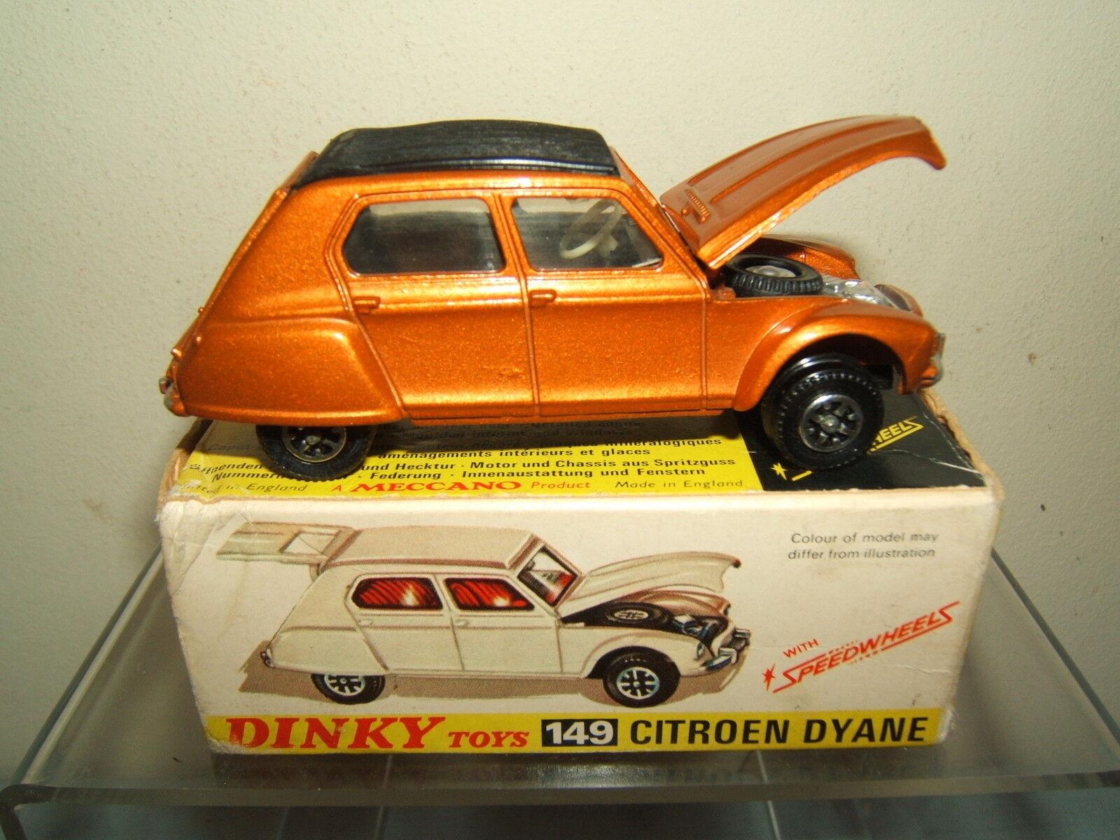 Dinky Juguetes Modelo No.149 CITROEN  DYANE  Berlina MIB