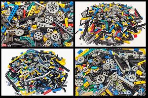 Lego-Bulk-Lot-100-Technic-Mindstorms-NXT-RCX-Liftarms-Bricks-Axles-Pins-Gear