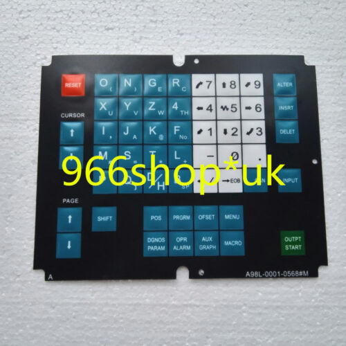 For Fanuc A98L-0001-0568#M A98L00010568#M Membrane Keysheet Keypad Keyboard