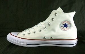 on sale terrific value special for shoe Details about New Men's Converse Chuck Taylor All Star High Top M7650  Natural White Shoes