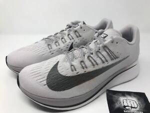 0c427fc7a662 Nike Zoom Fly Vast Grey Anthracite Running Shoes Men s Size 12.5 ...