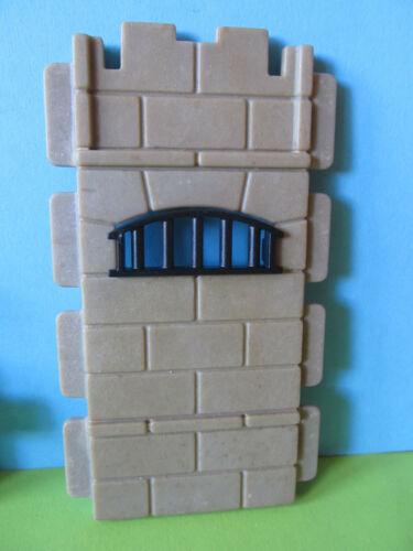 Playmobil Wand Fenster zu Kerker Gefängns Carcel 3859 Ritterburg 3123 3666 3667