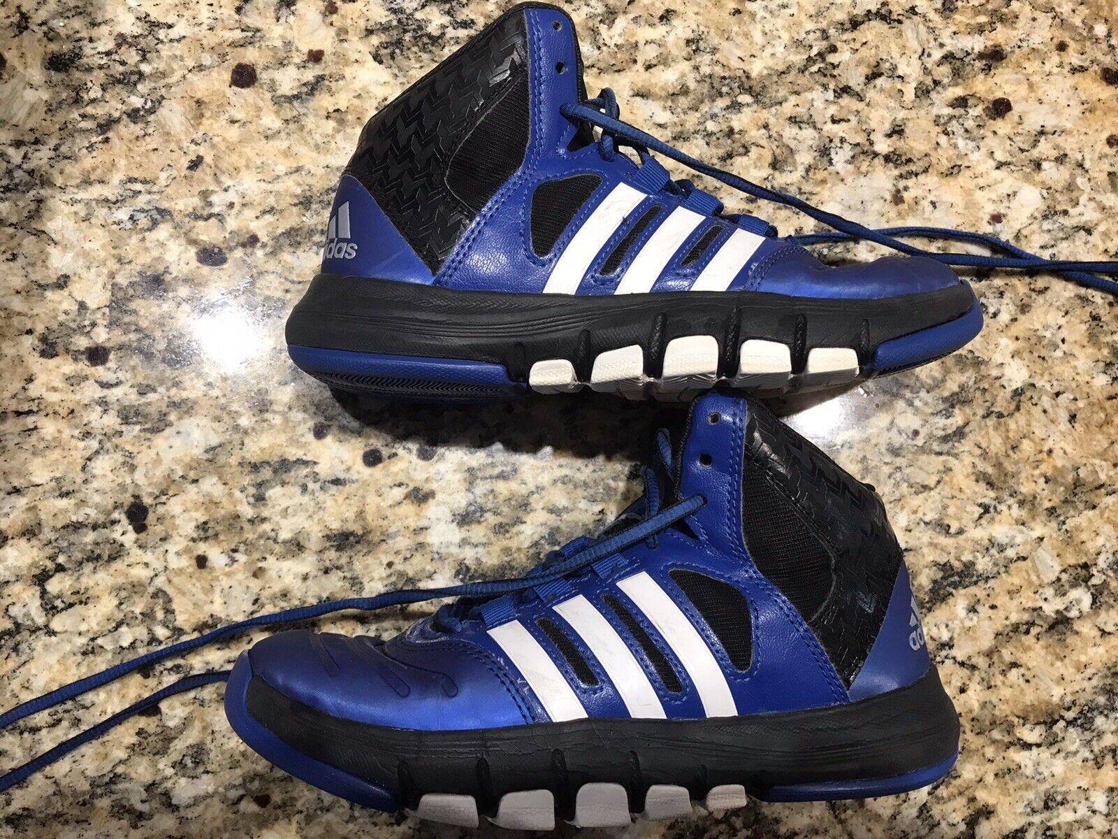 Sweet! Adidas Basketball Baskets/Chaussures-Jeunesse taille 4-Bleu