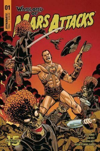 Barbarella Vol 1 #11 Cover C NM 2018 Dynamite Vault 35