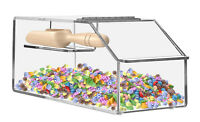 Acrylic Candy With Scoop Holder Food Retail Container Box