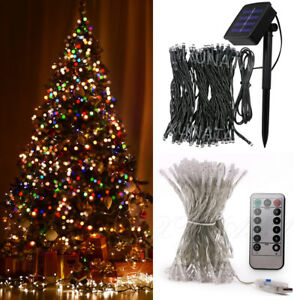 image is loading solar usb led string fairy light christmas holiday