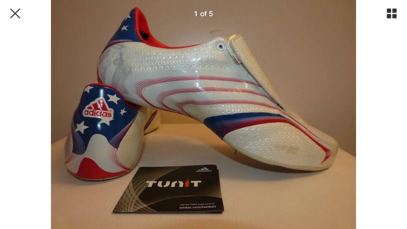 Adidas Usa Tunit F50 botas de fútbol superior de edición limitada 44 Nuevos Y En Caja
