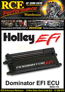 HO554-114-Holley-Dominator-EFI-ECU-ONLY-With-USB-amp-Software-BRAND-NEW-IN-BOX