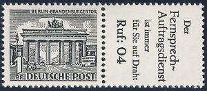 BERLIN 1952, Zusammendruck W 33, tadellos postfrisch, Mi. 90,-