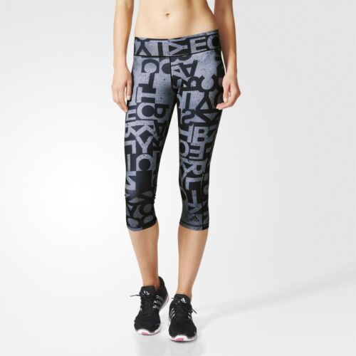 adidas WOMEN/'S 3//4 TIGHTS ACTIVE GYM FITNESS ALL SIZES TRAINING LEGGINGS