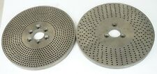 Index Plates2 Double Sided 73 Diameter Dividing Head Rotary Table Indexer