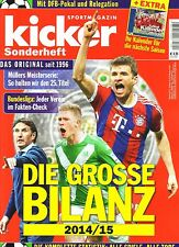 2014 2015 Kicker Bundesliga Review Die Grosse Bilanz German Sonderheft Football