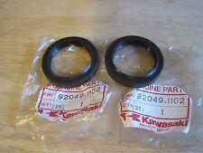 KAWASAKI NOS FORK SEAL SET (2) ZN1100 ZX600 ZX750 ZX900 KZ1000  92049-1102 /1178
