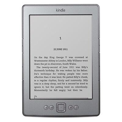 Amazon Kindle 4th Generation 2GB, Wi-Fi, 6in - Grey