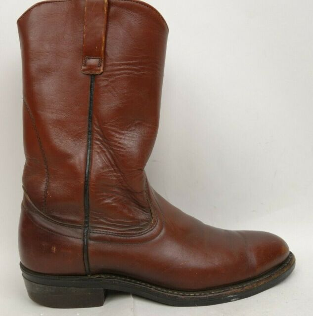 Vintage Roper Boots Size 9 Cowboy Boots Made in USA Union Made