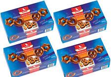 WEISS 4x 500g Zarte Lebkuchen Herzen Sterne Brezeln Vollmilch Schokolade 2 Kg