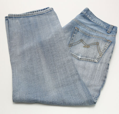 Hommes Rag 8046 Wpl Douglas American M897 Vguc Jeans Taille 36x32 Fit 54qwgx