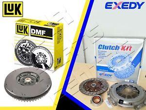 Pour-Nissan-Navara-D40-2-5-dCi-05-10-LUK-Dual-Mass-Flywheel-amp-EXEDY-clutch-Kit