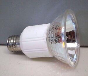 4 Jdr 100 Watt 120 Volt Halogen Lamp Clear Light Bulb E17 Screw