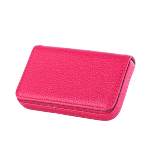New Pocket PU Leather Business ID Credit Card Holder Case Wallet New J/&C