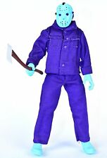 """Friday the 13th Video Game NES 8-bit JASON VOORHEES Purple 8"""" Action Figure NECA"""
