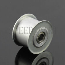Smooth Idler Pulley Width 11mm Od 27mm With Bearing For 10mm Timing Belt Tension
