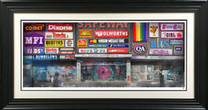 JJ-Adams-SOME-BYE-GONE-SHOPPING-CENTRE-Woolworths-C-amp-A-Shopping-Art-1980s