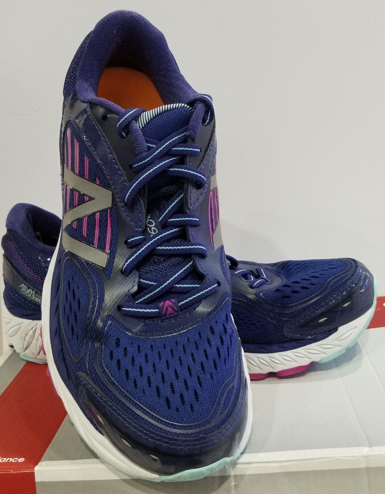 Mujer Zapato De Correr New Balance, Azul Morado, 10 B nosotros, W860BP7