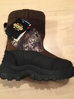 Mossy Oak Waterproof Thinsulate Leather Extreme Condition Boots Men's Sz 8.5