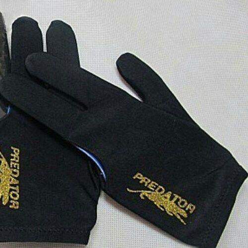 1PCS Spandex Snooker Billiard Cue Glove Pool Left Hand Three Finger