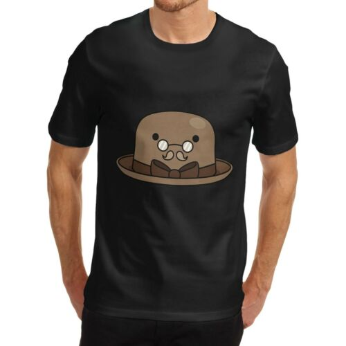 Twisted Envy Men/'s Bowler Hat Glasses T-Shirt