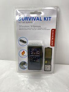 Kikkerland Model CD09,10 Function Survival Tool Kit, New & Sealed