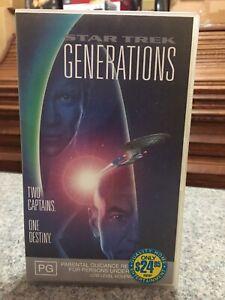 Star-Trek-Generations-Two-Captains-One-Destiny-VHS-Video-Tape