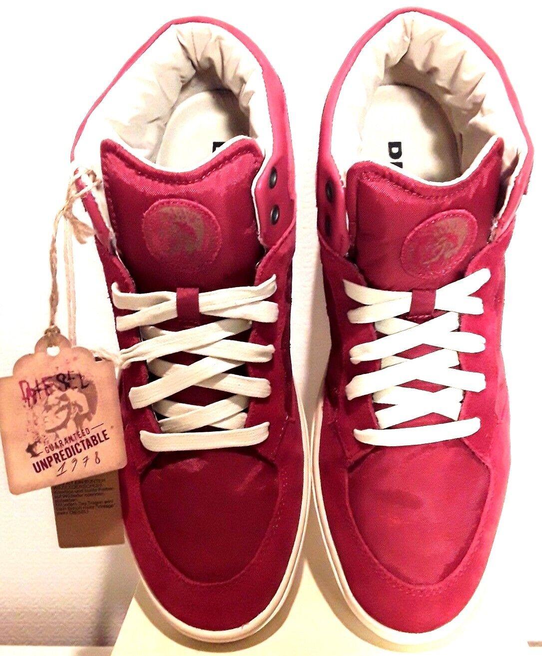 Diesel Sneaker Gr. 44 rot  NEU/OVP
