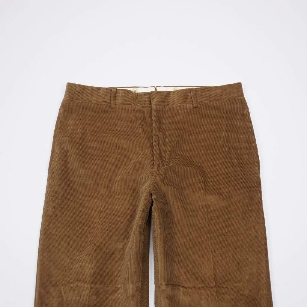 54a106d1d POLO RALPH LAUREN Stretch Lined Flat Front Dress Pants Corduroy Mens 34x32