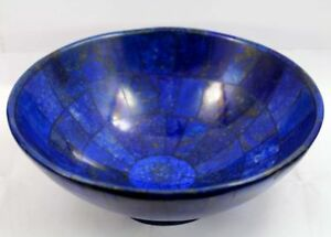 lapis lazuli bowl 5 inches wide hand made bowl from badakhsan