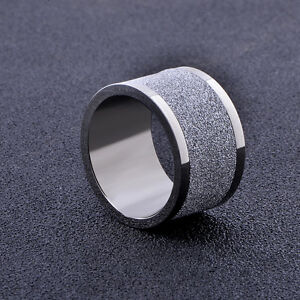 mens rings fashion white gold filled ring size 11 thumb