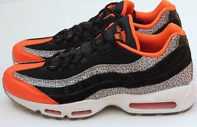 Nike Air Max 95 Safari Black Orange Graphite AV7014 002