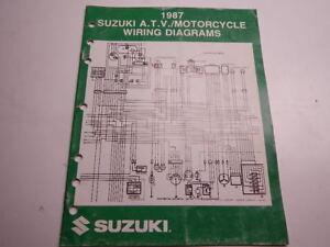 Excellent 1987 Suzuki Atv Motorcycle Wiring Diagrams Lt Fa Sp Dr Gs Vs Gsx50 Wiring Digital Resources Honesemecshebarightsorg