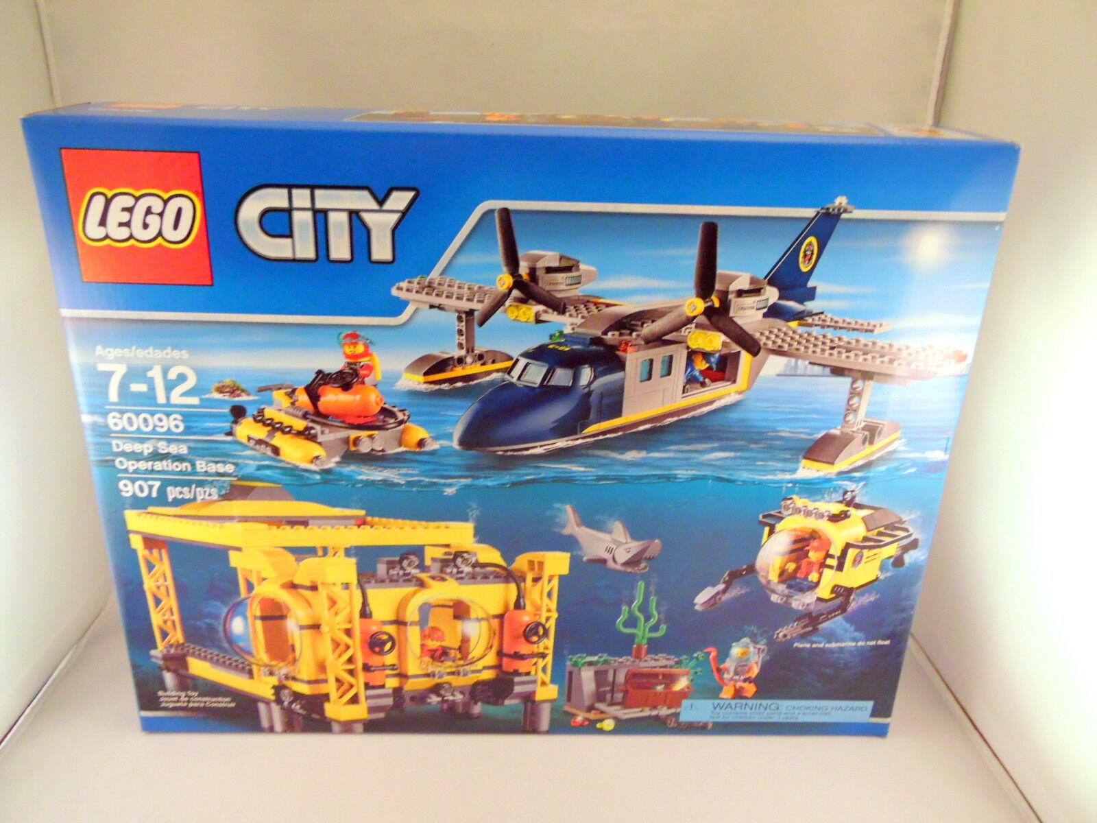 Lego 60096 Deep  Sea Operation Base - 2015 - nuovo - Sealed  fino al 50% di sconto