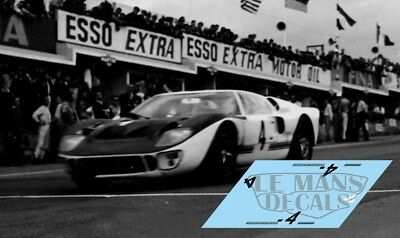 Calcas Ford Mkii 1000km Spa 1966 4 1:32 1:24 1:43 1:18 64 87 Slot Gt40 Decals Regular Tea Drinking Improves Your Health Accessories, Parts & Display