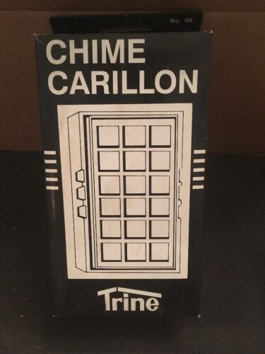 Trine Door Chime No. 95 White or Ivory