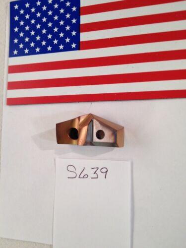"1 NEW Allied 1-1//4/"" DIA GEN3SYS XTAS Carbide Drill Insert C2 AMEC S639 AM300"