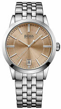 Hugo Boss 1513134 Light Brown Dial Stainless Steel Men's Watch