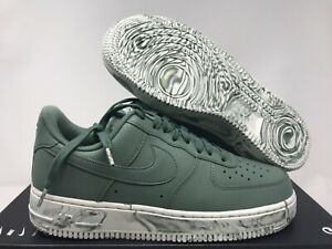 Details about NIKE AIR FORCE 1 07 LV8 LEATHER CLAY GREEN MARBLE SZ 7 [AJ9507 300]