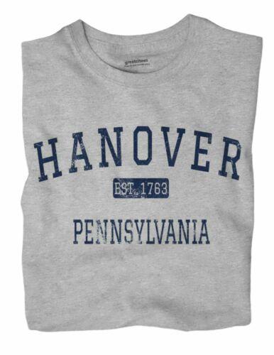 Hanover Pennsylvania PA T-Shirt York County EST