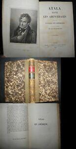 Atala-Rene-Les-Abencerages-Suivis-Du-Voyage-En-Amerique-CHATEAUBRIAND-1867