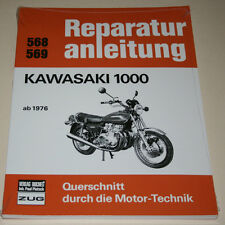 Reparaturanleitung Kawasaki Z 1000 A1 + A2, ab Baujahr 1976