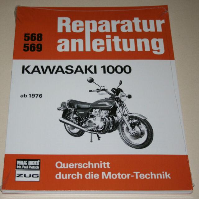 Repair Manual Kawasaki Z 1000 A1+A2, from Year 1976
