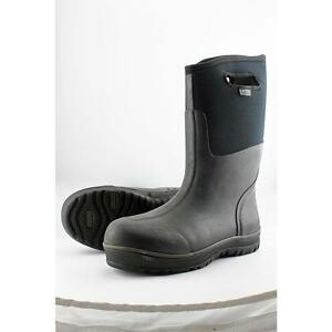 best website f5a4f c3389 Bogs Mens Classic Ultra High Insulated Waterproof BOOTS 51377 Black Size 13